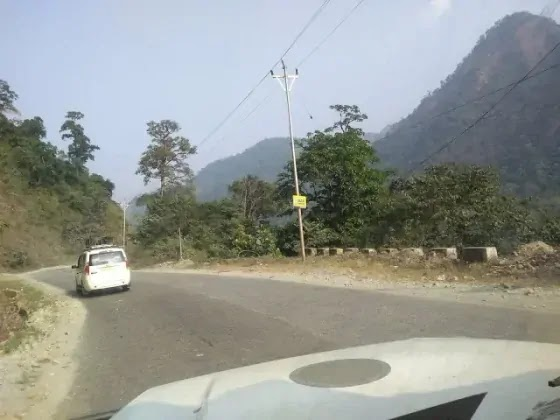 on the way to Kalimpong