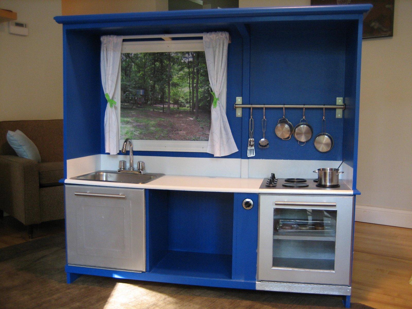 Regifter Bible Entertainment Center Turned Play Kitchen