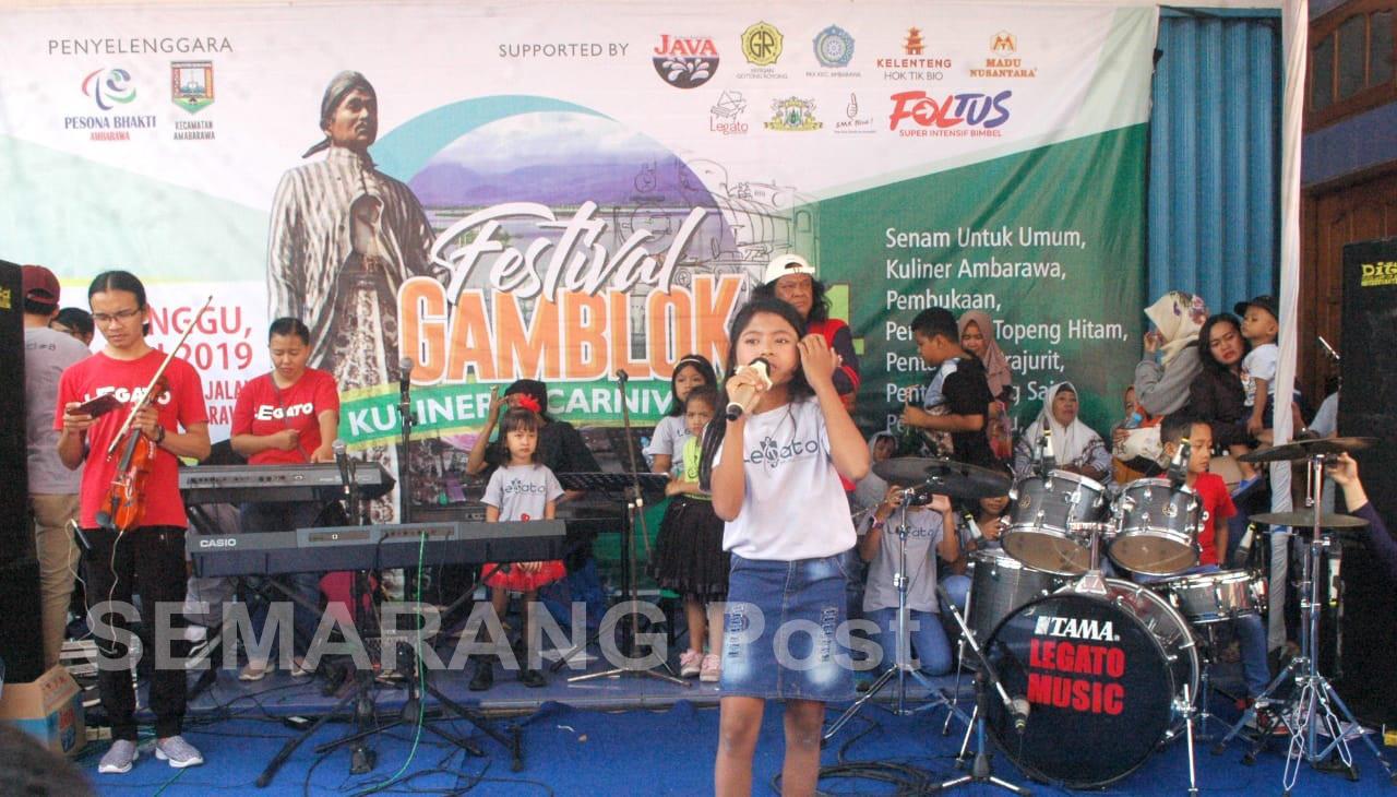 Komunitas Ambarawa Gelar Festival Gamblok Semarang Post