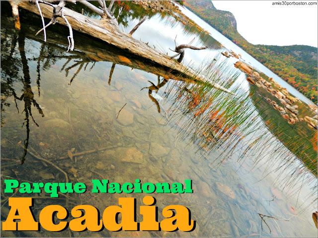 Parque Nacional Acadia en Maine