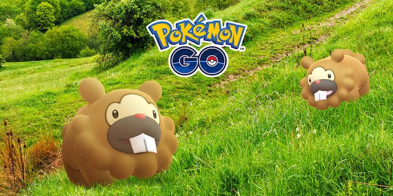 Pokémon GO Invasão de Bidoof
