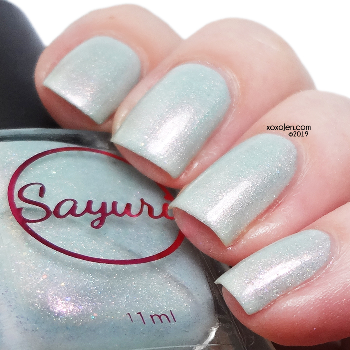 xoxoJen's swatch of Sayuri Nail Lacquer Chill Out