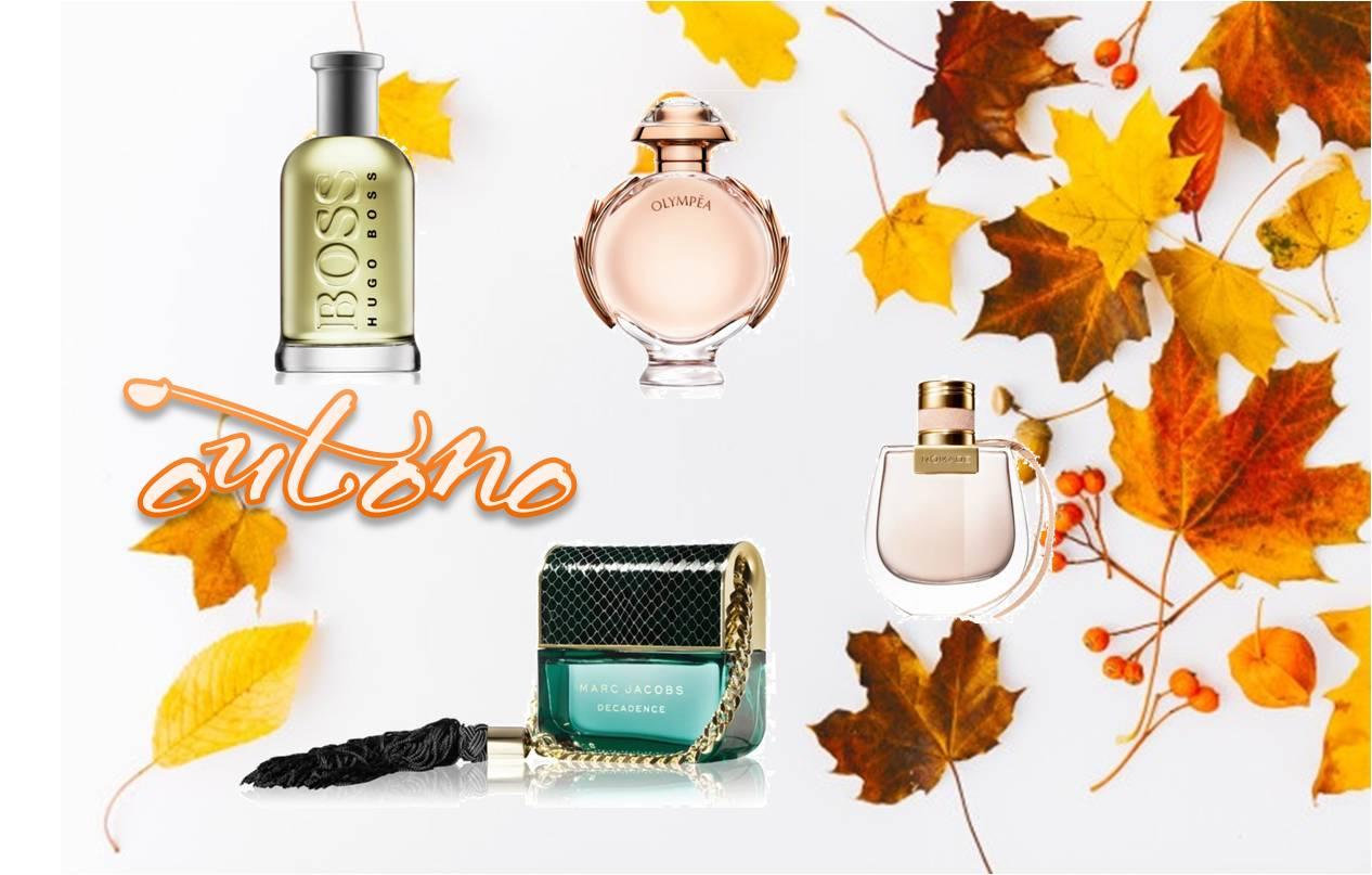 os aromas que eu gosto para o Outono