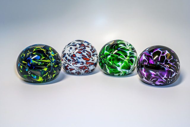Paperweights made at the Jackson County Green Energy Park
