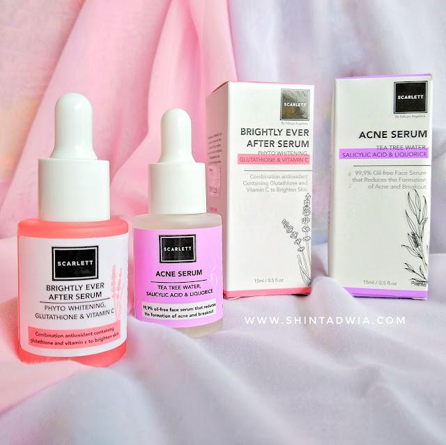 review scarlett acne serum