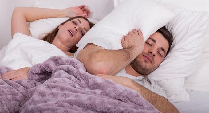Petua Hentikan Tidur Berdengkur