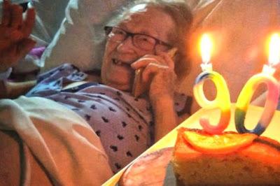 90 ans de son anniversaire