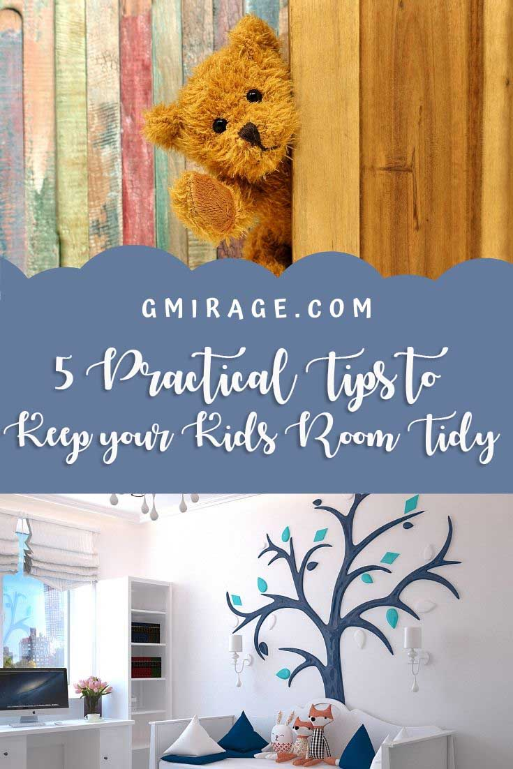 5 Practical Tips to Keep Kids Room Tidy, teddy bear