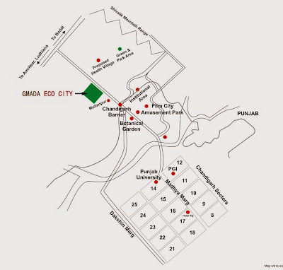 gmada ecocity location