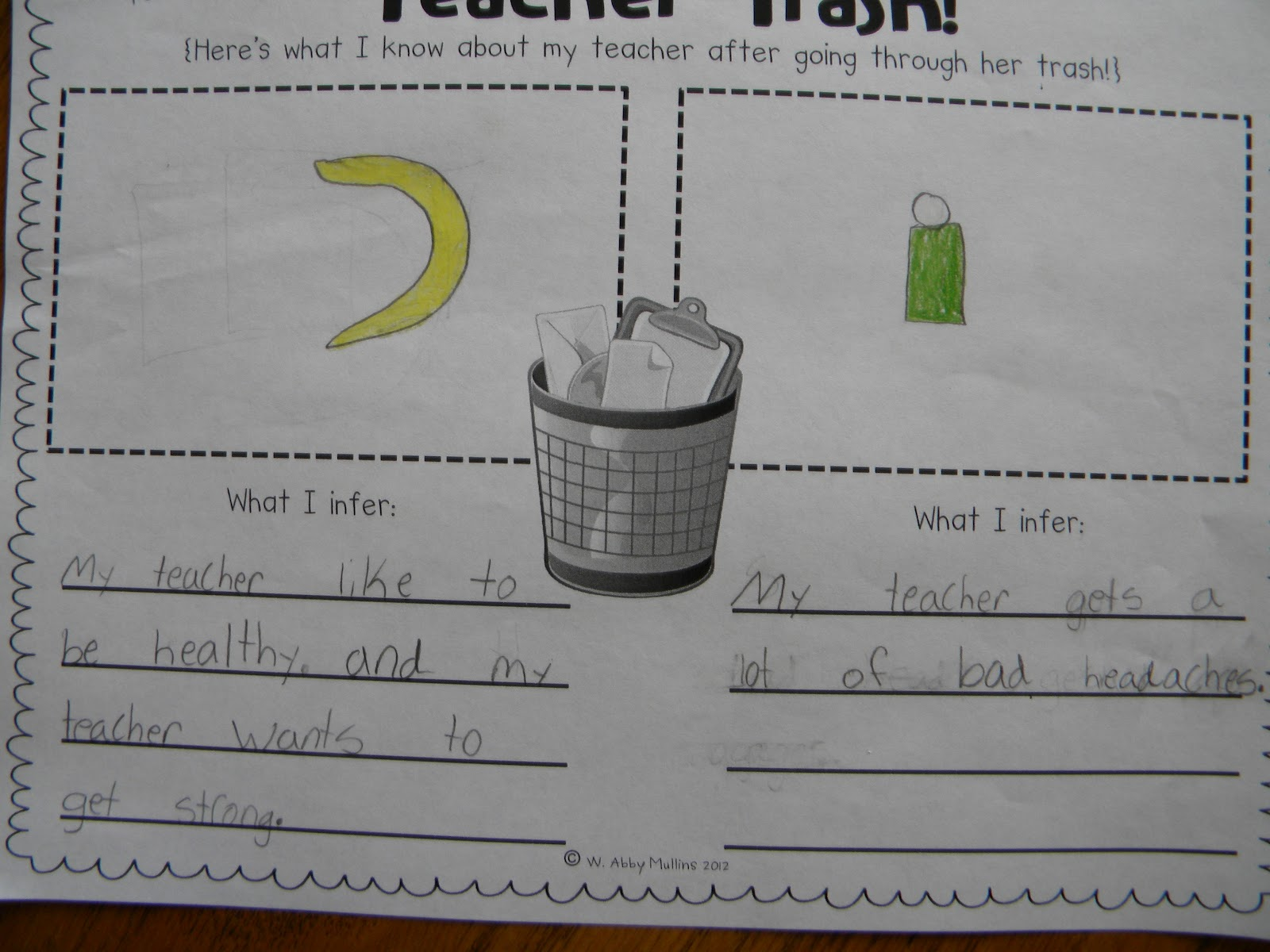 Conversations In Literacy What Can You Infer