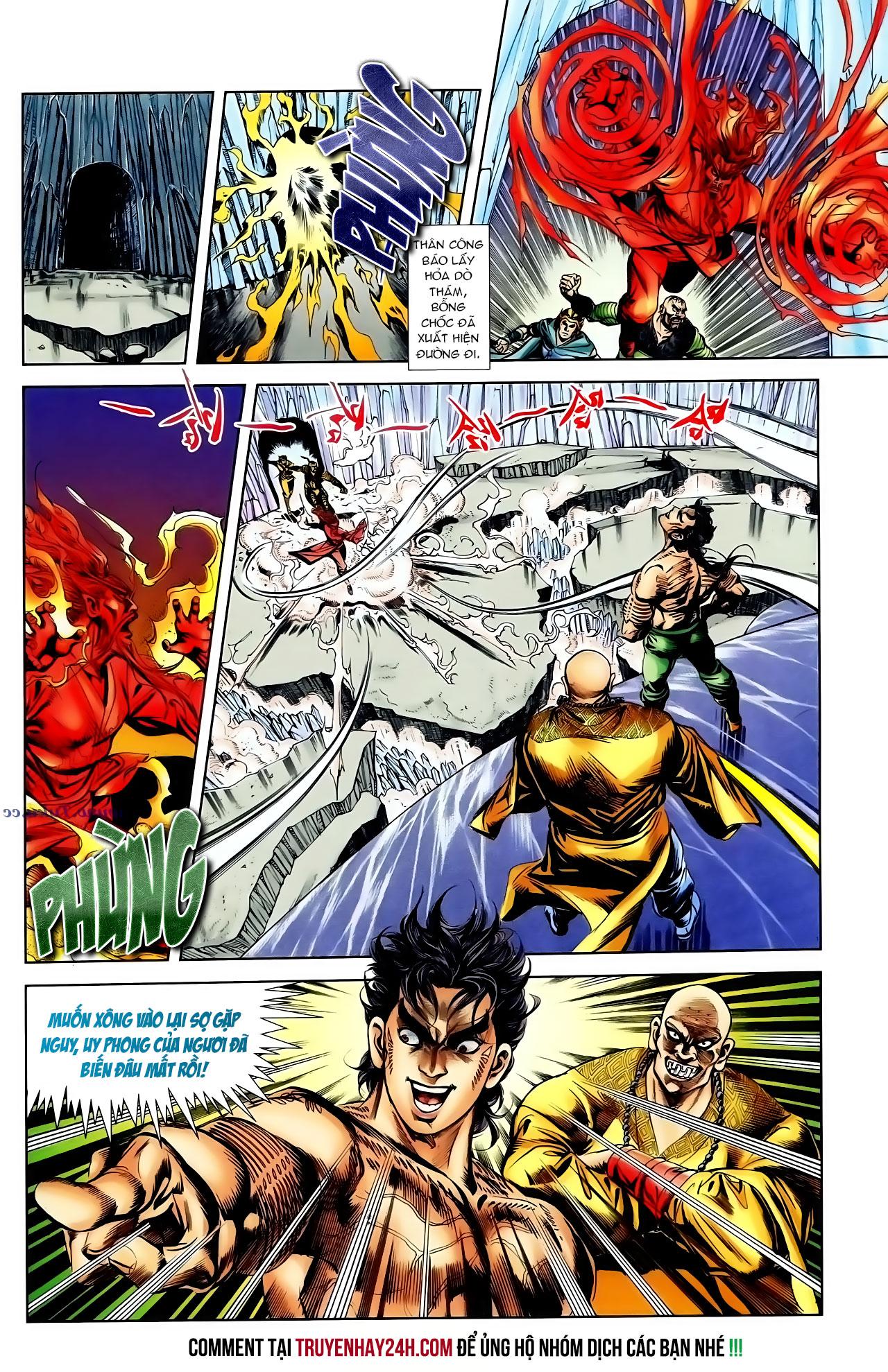Cơ Phát Khai Chu Bản chapter 100 trang 15