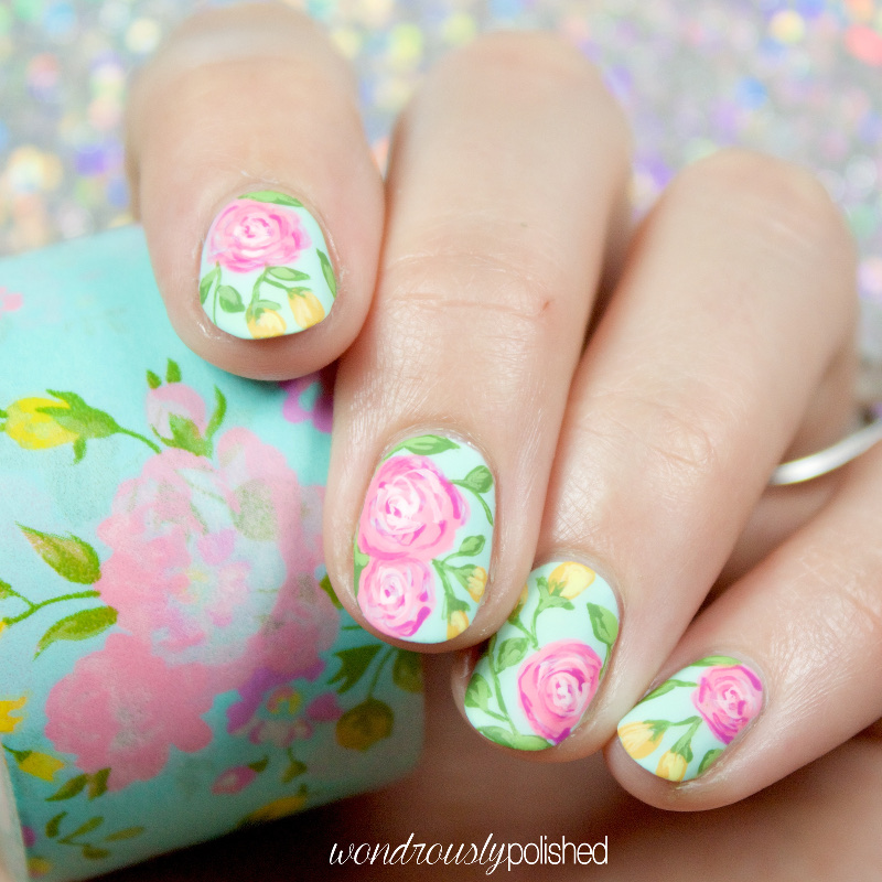 Wondrously Polished: Nail Art: The Planner Society Washi Series ...