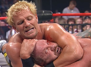 WCW Superbrawl Revenge 2001 - Jeff Jarrett puts Diamond Dallas Page to sleep