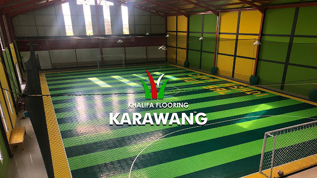 Jual Lantai Lapangan Futsal di Karawang