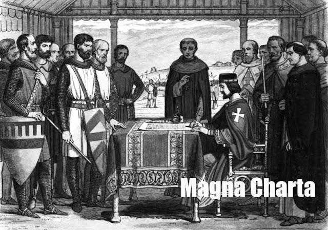Gambar ilustrasi Magna Charta