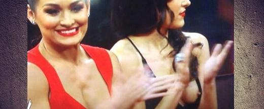 El Pezón De Brie Bella Se Le Salió En Plena Wwe Tv Método Suplex
