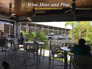 The Terrace and open seating at Ozona Blue in Palm Harbor, Florida