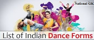 list of indian states and their dance forms