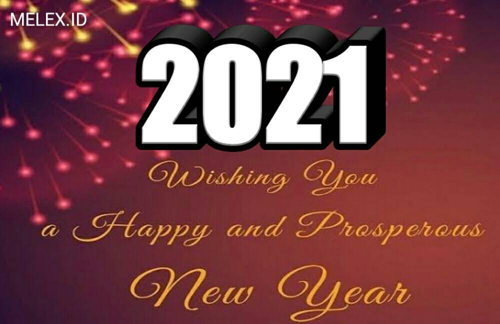 Kumpulan Kata Ucapan Selamat Tahun Baru 2021 Bahasa