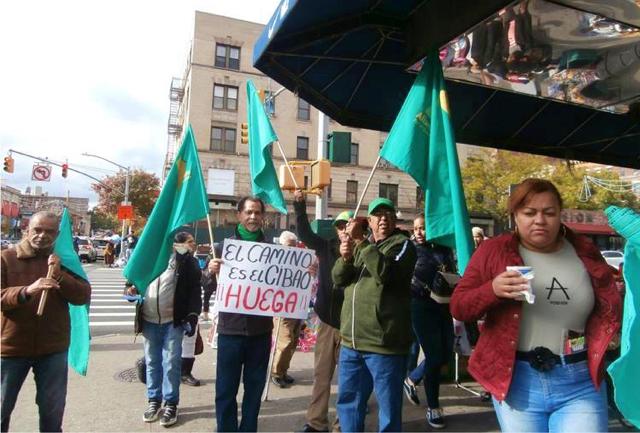 Se movilizan en NY en apoyo a la huelga general del Cibao