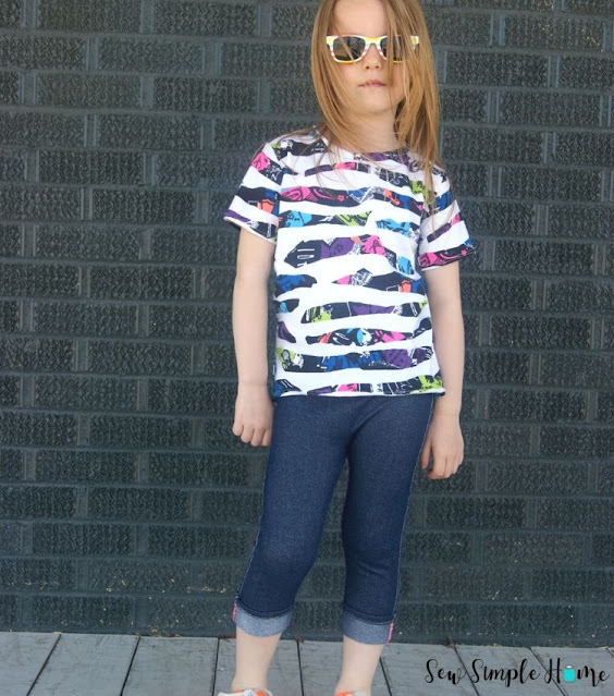 t-shirt pattern girl