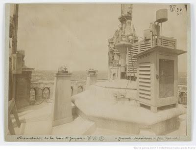 Observatorio da Torre Santiago, por volta de 1893 - Gallica
