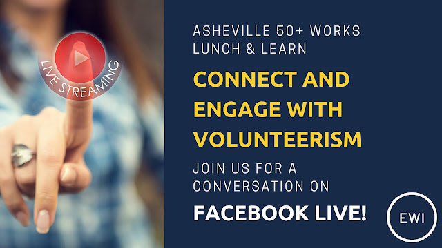 Connect and Engage with Volunteerism - Virtual Lunch & Learn Event