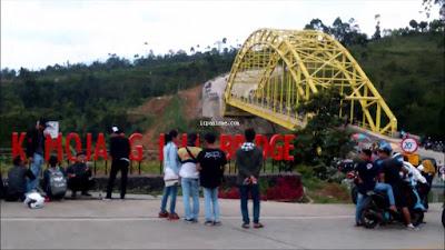 Hill Bridge Geothermal Kamojang Bandung
