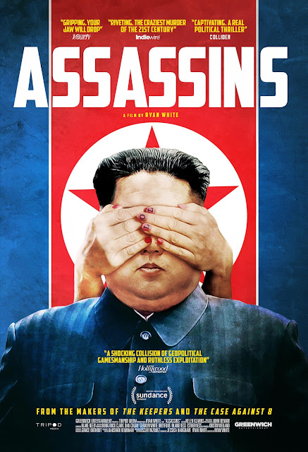 "Movie poster for the 2020 documentary ""Assassins"""