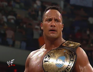 WWF Backlash 2000 - The Rock beat HHH for the WWF Championship