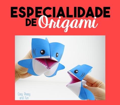 Especialidade de Origami Respondida
