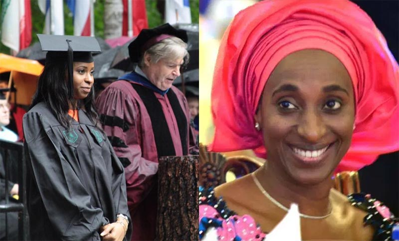 People criticize Yemi Osinbajo's daughter for studying abroad