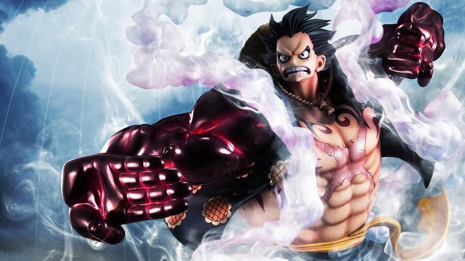 Luffy, Boundman, Gear Fourth, One Piece, 4K, #6.37