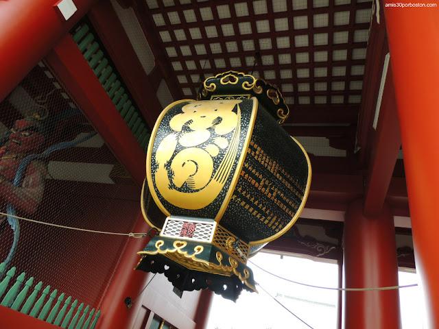 Puerta Hozomon en el Templo Sensoji