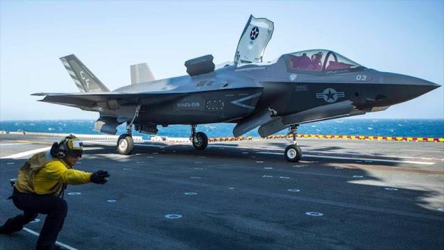 EEUU despliega, por primera vez, cazas F-35 en el Golfo Pérsico