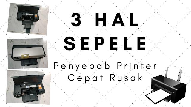 3 hal sepele printer ceoat rusak