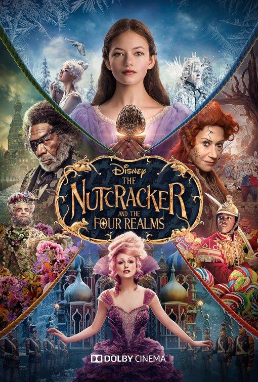 Nutcracker Four Realms movie poster
