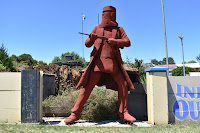 Ballarat   BIG Ned Kelly Sculpture