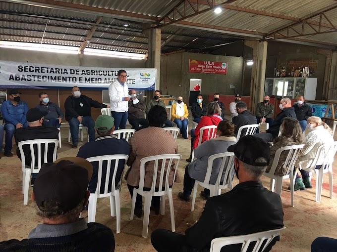 Laranjeiras: Prefeito Berto Silva anuncia destinação de recursos para dez comunidades