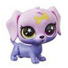 Littlest Pet Shop Series 5 Lucky Pets Glow-in-the-Dark Eyes Boho (#No#) Pet