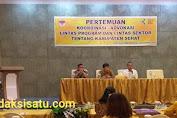 Dinkes Minsel Laksanakan Pertemuan Koordinasi/Advokasi Lintas Sektor