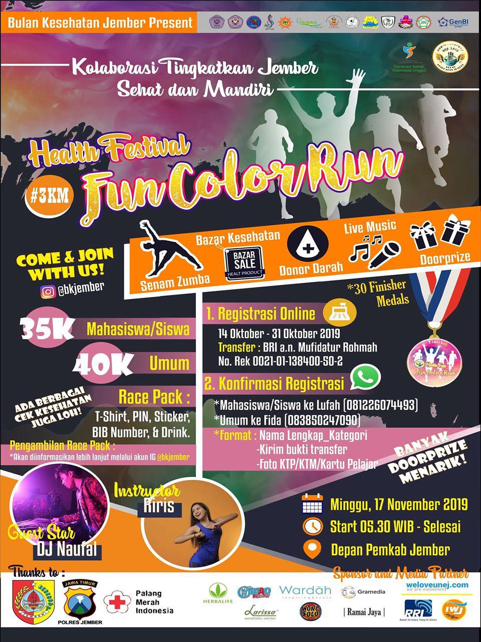 Fun Color Run - BKJ • 2019