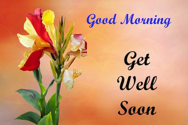 Good Morning Get Well Soon.