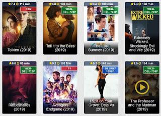 Jenis Jenis dan Tingkatan Kualitas Video Film Bajakan TS CAM BLURAY WEB-DEL HD/SD