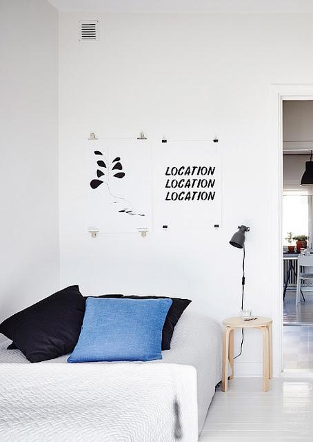 decorando el hogar con posters