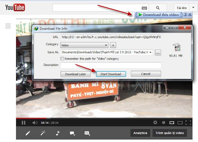 Download Add-on IDM integration 6 26 8 2 Cho Firefox 49 0 2 mới nhất