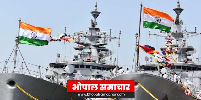 FANI CYCLONE: भारत की जल सेना अलर्ट पर, तबाही बचाने की कोशिश