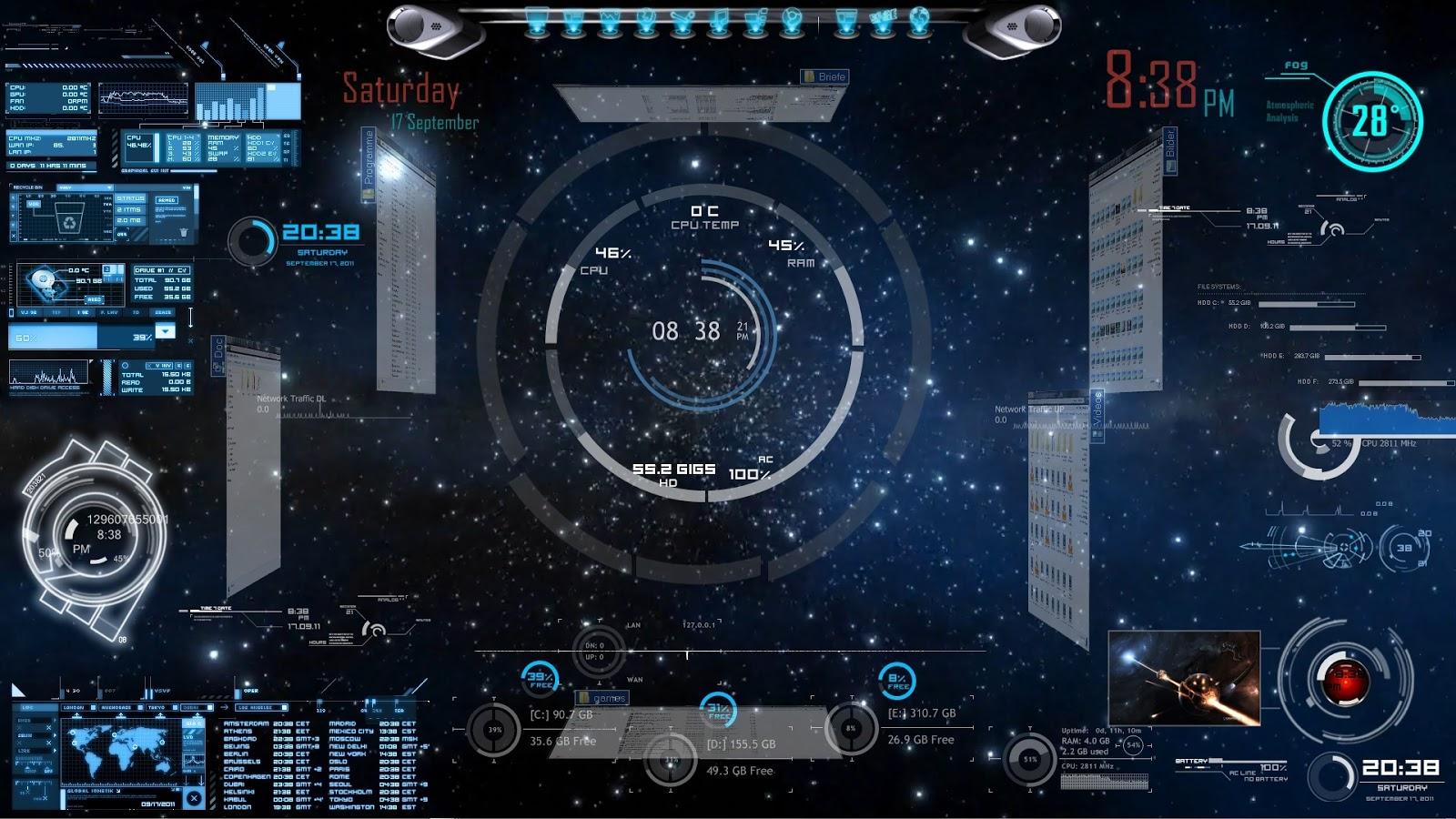 Fond d 39 cran futuriste anim fonds d 39 cran hd - Iron man 2 telecharger gratuit ...
