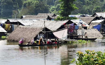 Floods affect over 1 lakh in Assam