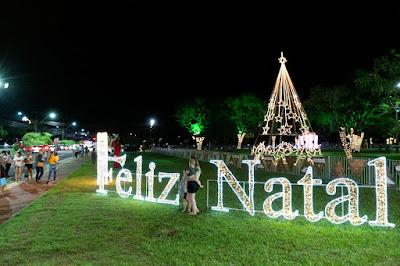 Fronteira de Brasil e Paraguai terá Natal de Águas e Luzes integrado pela Ponte da Amizade